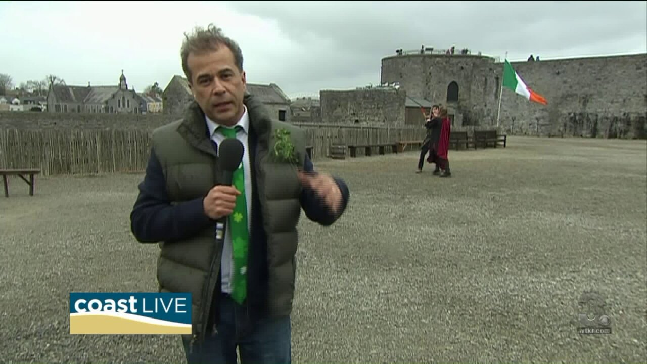 A St. Patrick's Day experience live from Ireland on Coast Live
