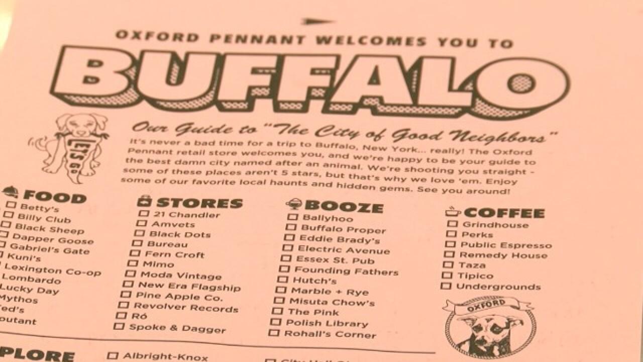 Buffalo holiday tour guide