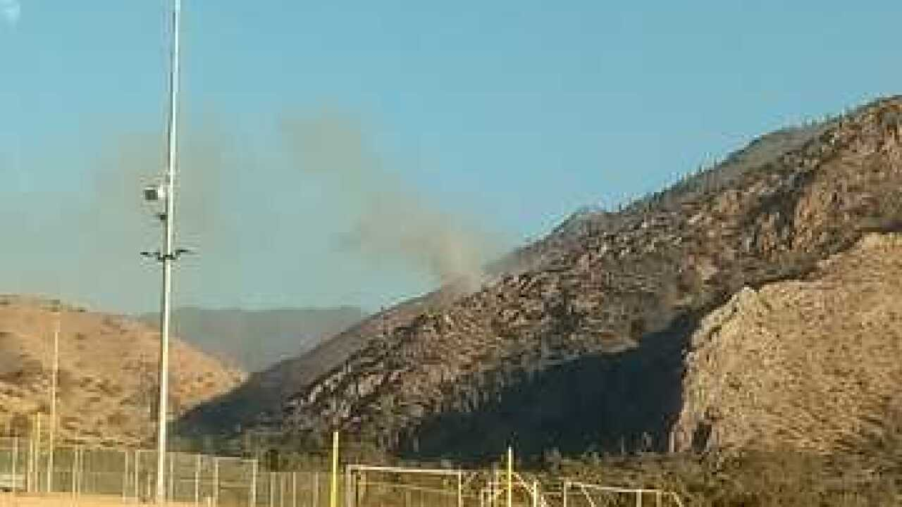 Vegetation fire reported near Lake Isabella, 6 acres