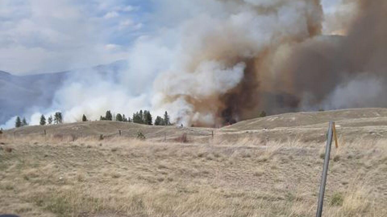 Dixon Wildlands Fire