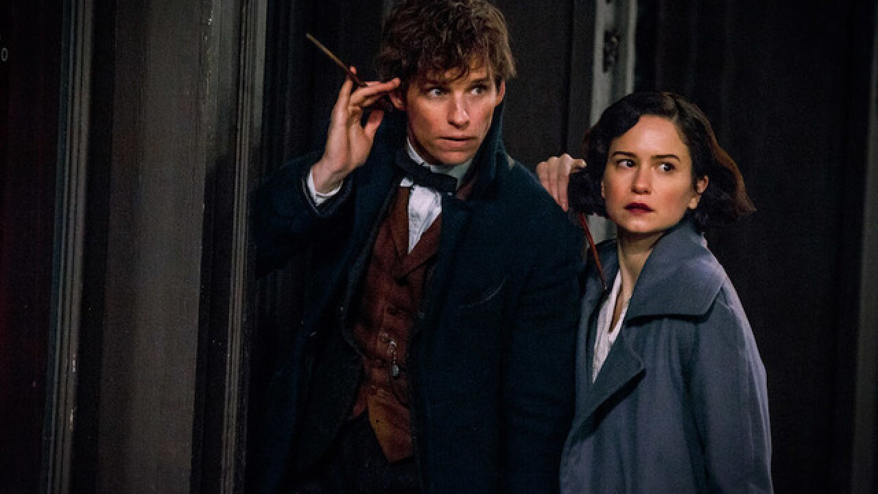 54044bb491 'Fantastic Beasts and Where to Find Them' movie review — Wizarding,  American style