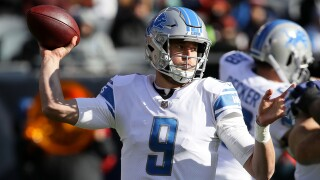 Lions release 2020 schedule, opening against Bears and hosting Texans on Thanksgiving