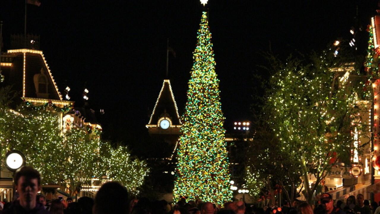 Holidays hit to Disneyland, California Adventure