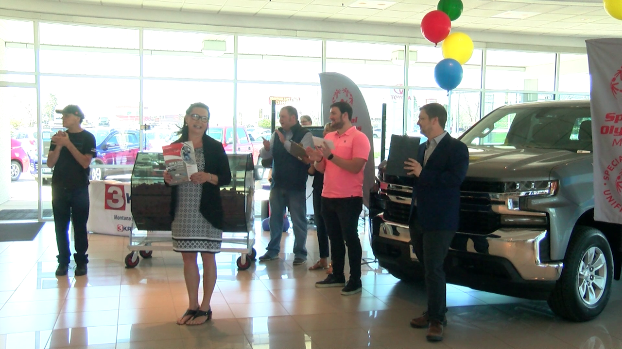 Special Olympics Montana hosts annual MTN Chevy Truck Raffle drawing
