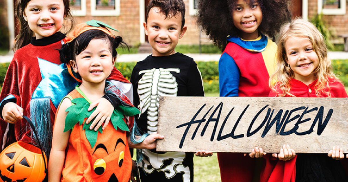 Simple hacks to make your Halloween inexpensive and safe