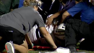 Injured Aransas Pass WR released from hospital Sunday morning