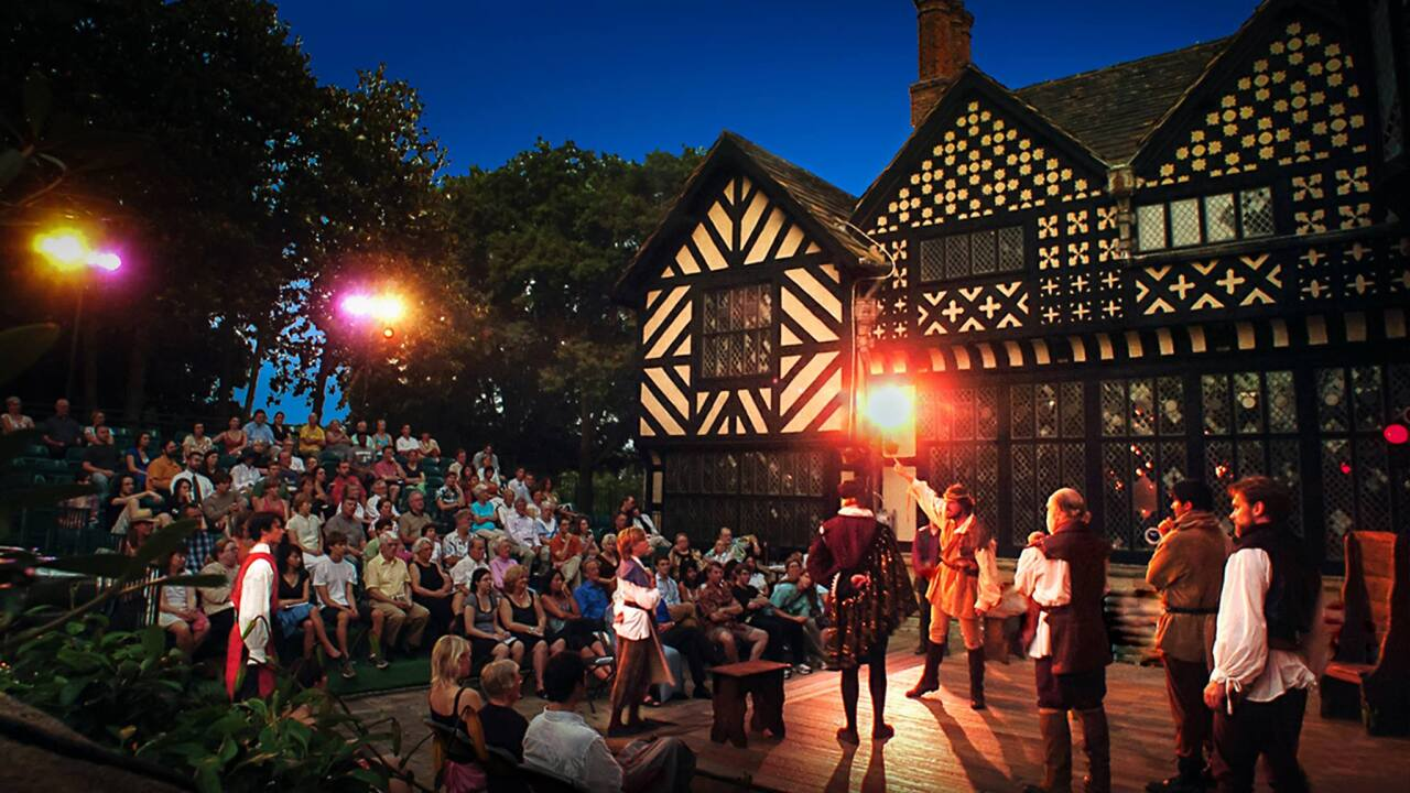Richmond Shakespeare Festival at AgecroftHall