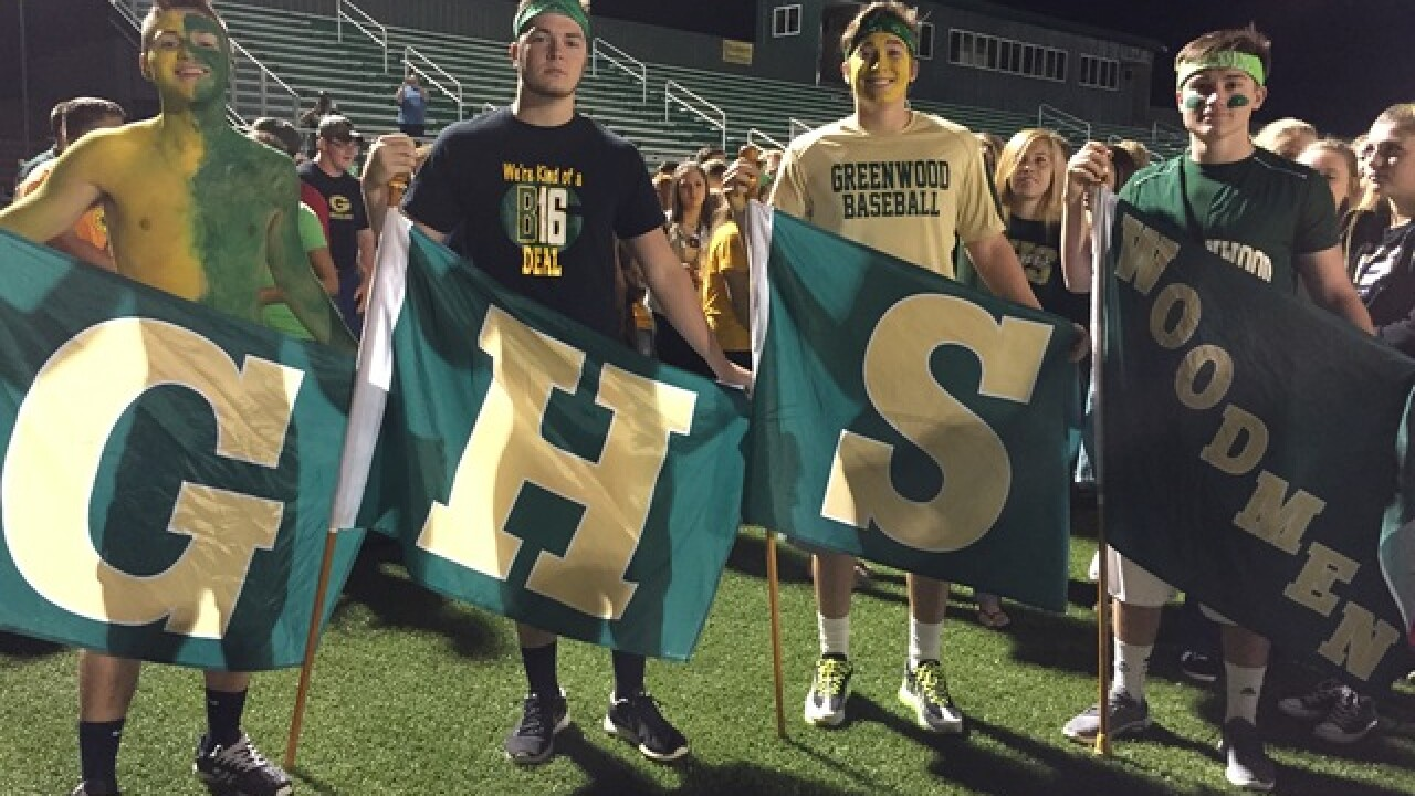 Greenwood gets pumped on Friday Football Frenzy