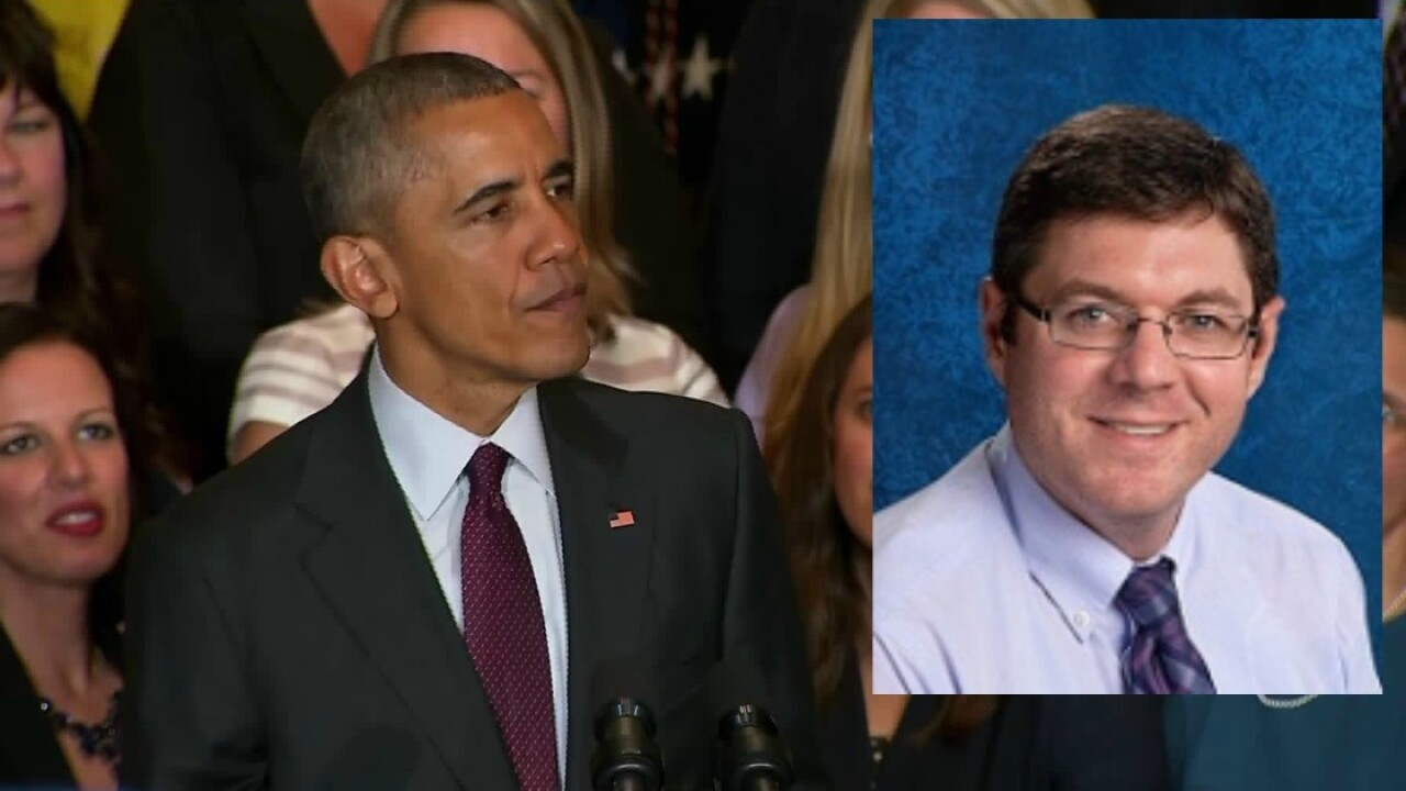 Obama invites Chesterfield teacher to White House, responds toletter