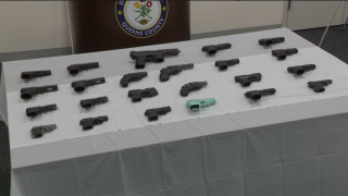 Guns seized in Queens