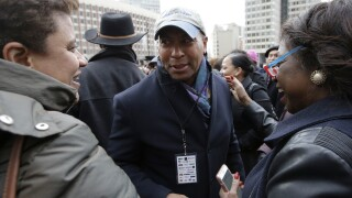 Former Massachusetts Gov. Deval Patrick tells allies he's running for president
