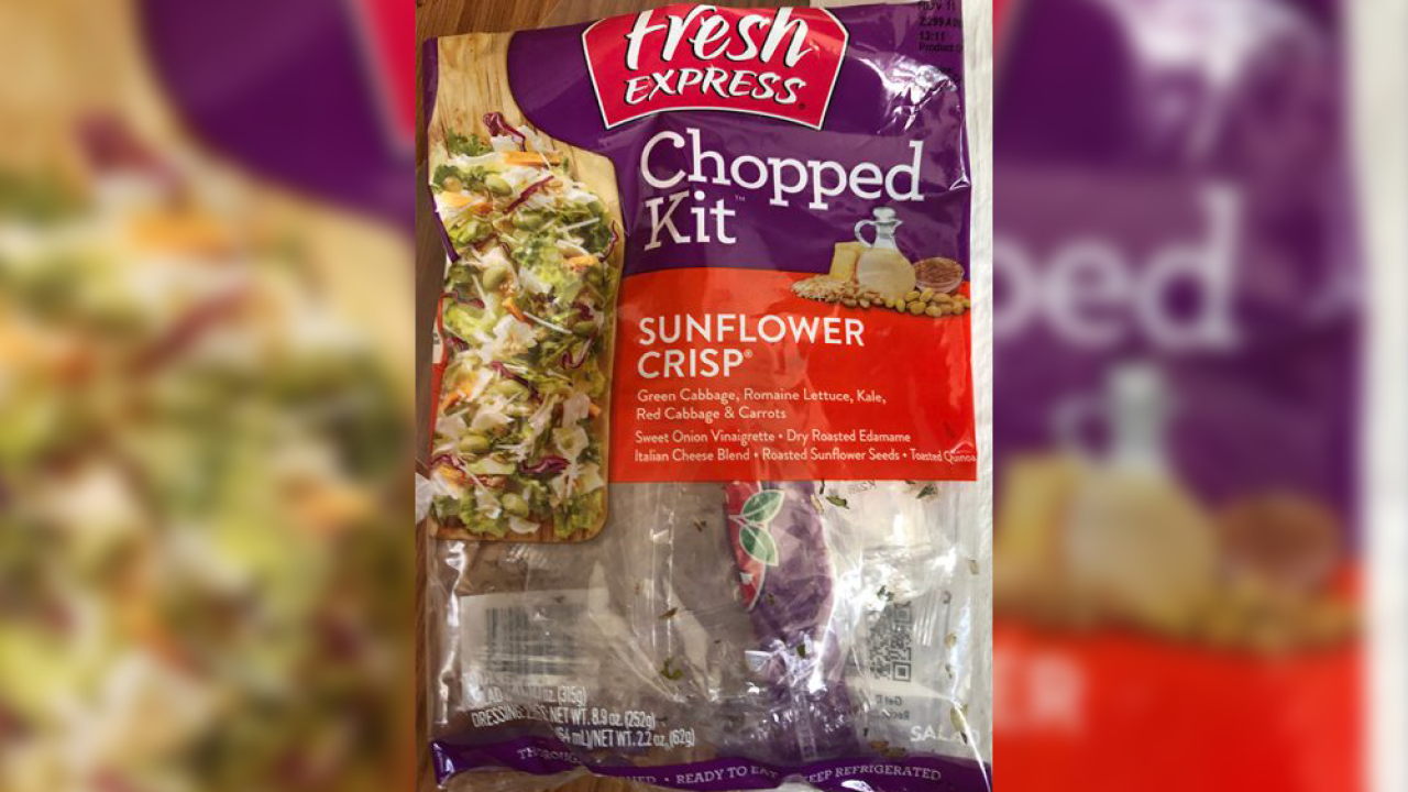 Fresh Express sunflower salad kits linked to multi-state E. coli outbreak, CDC says