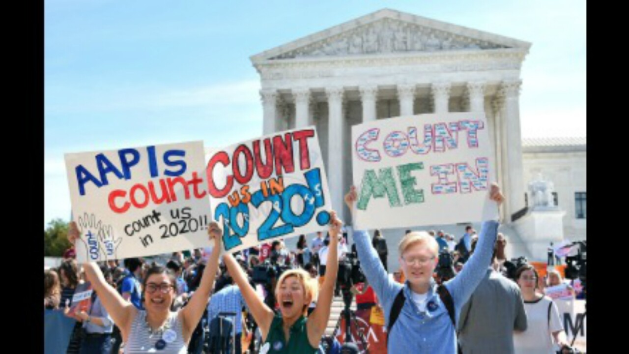 Supreme Court blocks 2020 census citizenship question in setback for Trump administration