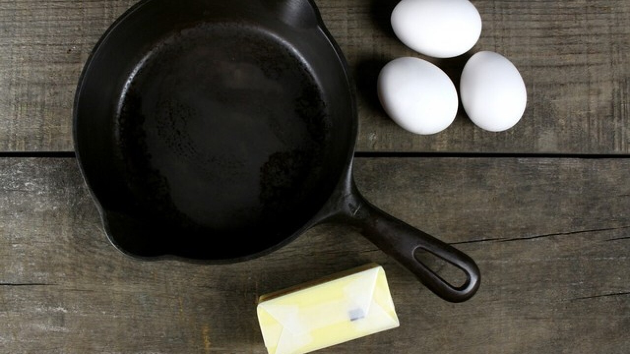 You can get a pre-seasoned cast iron skillet for just $10