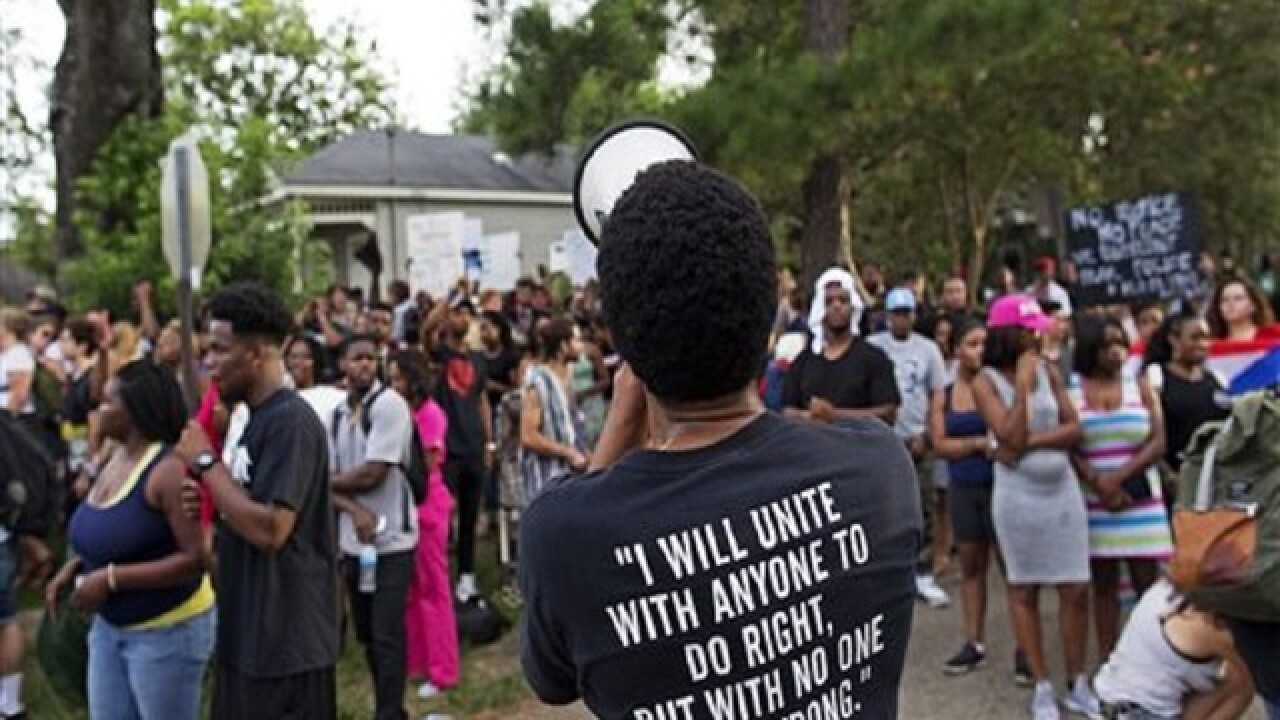 Groups sue over Louisiana protesters' treatment