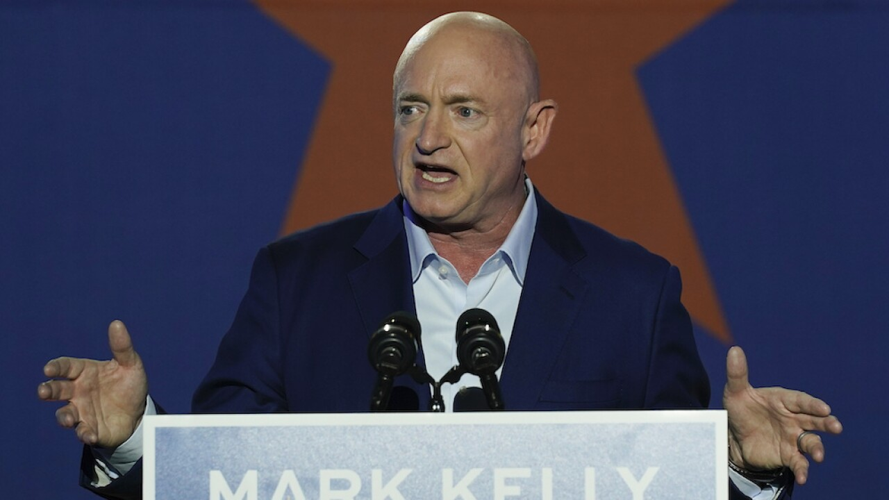 Senator Mark Kelly talks changing D.C. & John McCain following swearing in