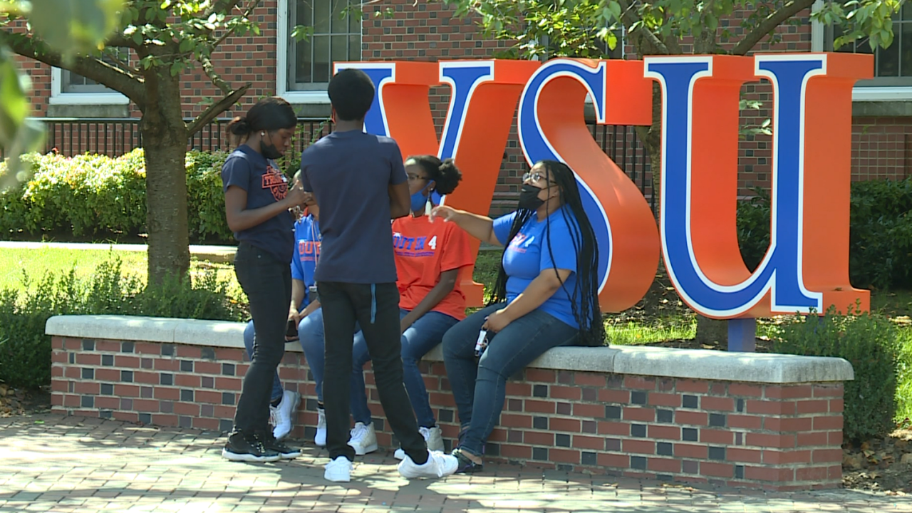 Students given chance to 'reboot, recharge, and reconnect' during VSU wellness day