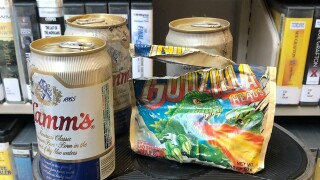 30-year-old gum, beer found hidden behind library shelves