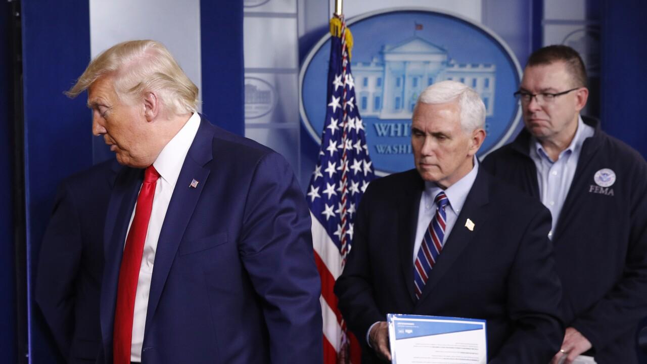 Donald Trump, Peter Gaynor, Mike Pence