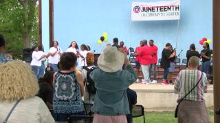 Juneteenth celebration in Great Falls