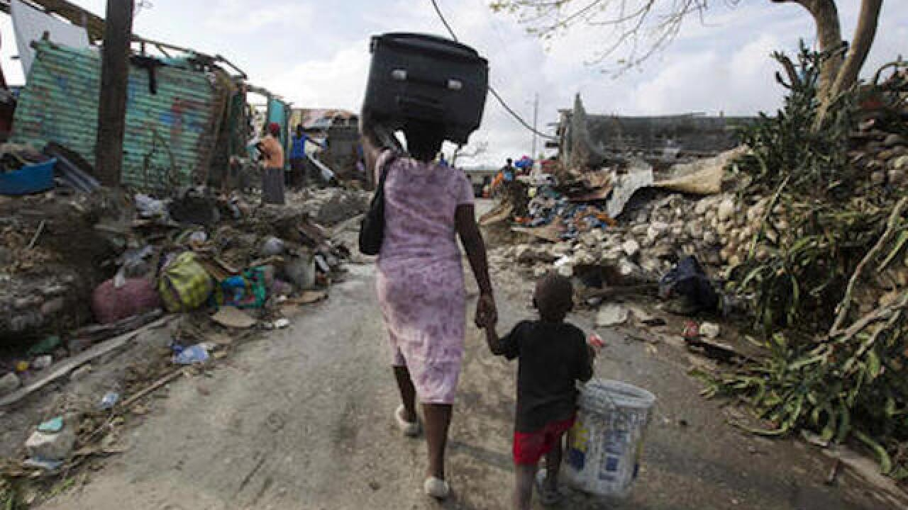 Following Hurricane Matthew, aid convoys arrive as Haiti gauges full extent of disaster