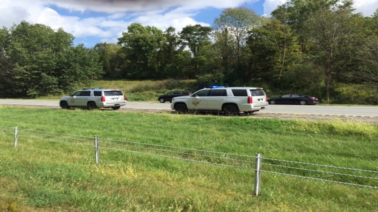 Interstate 71 shut down due to police stand-off