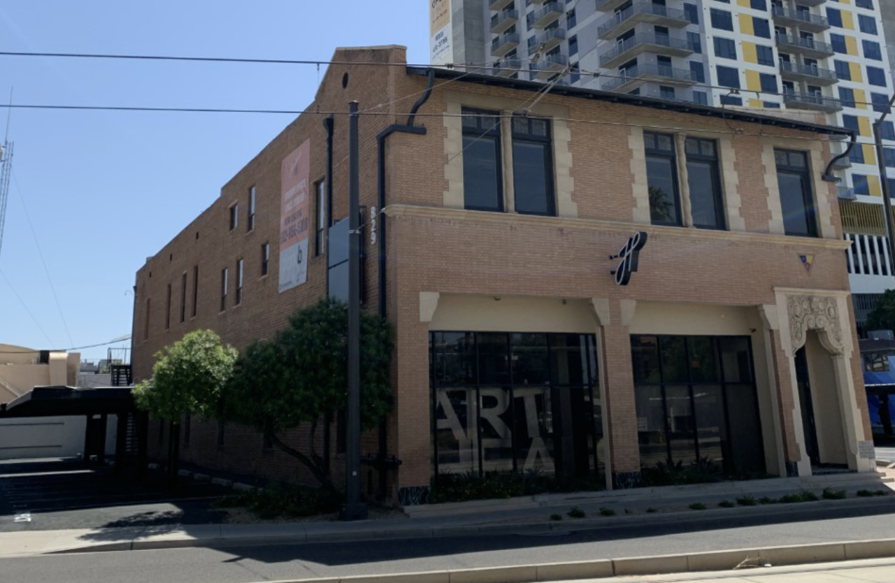 Photo of historic Hardware Store building in downtown Phoenix. Image courtesy: David Tyda.
