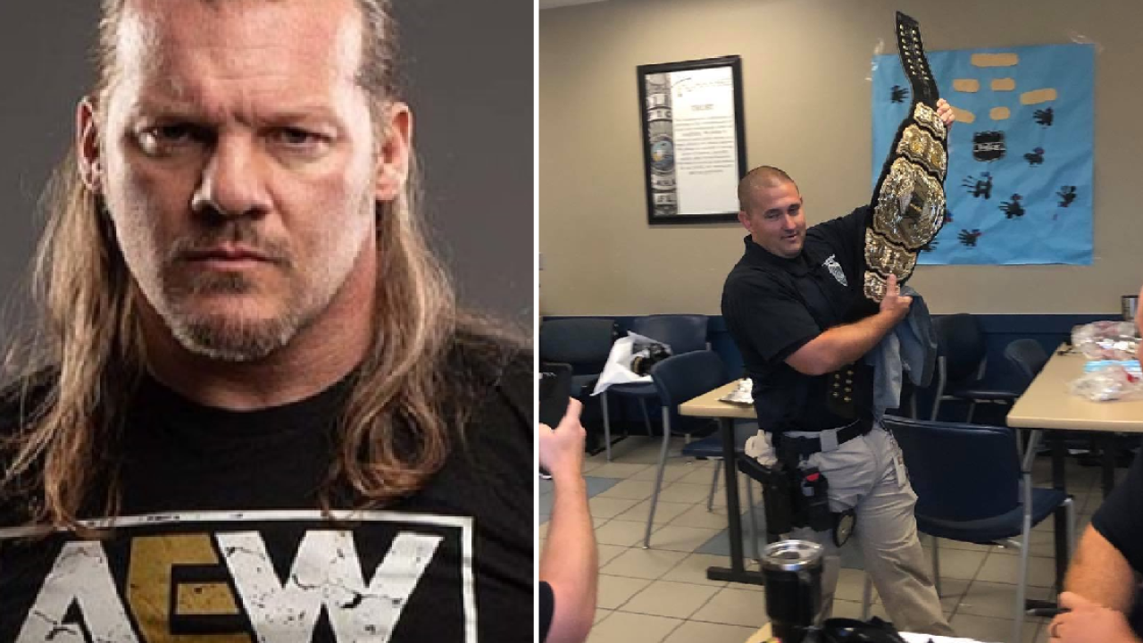 Wrestling star Chris Jericho's championship belt found in Tallahassee