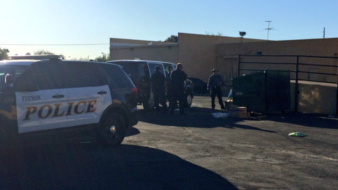 Item resembling human skull found in dumpster