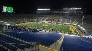 FILE Michigan Stadium 2020 Wisconsin Michigan Football