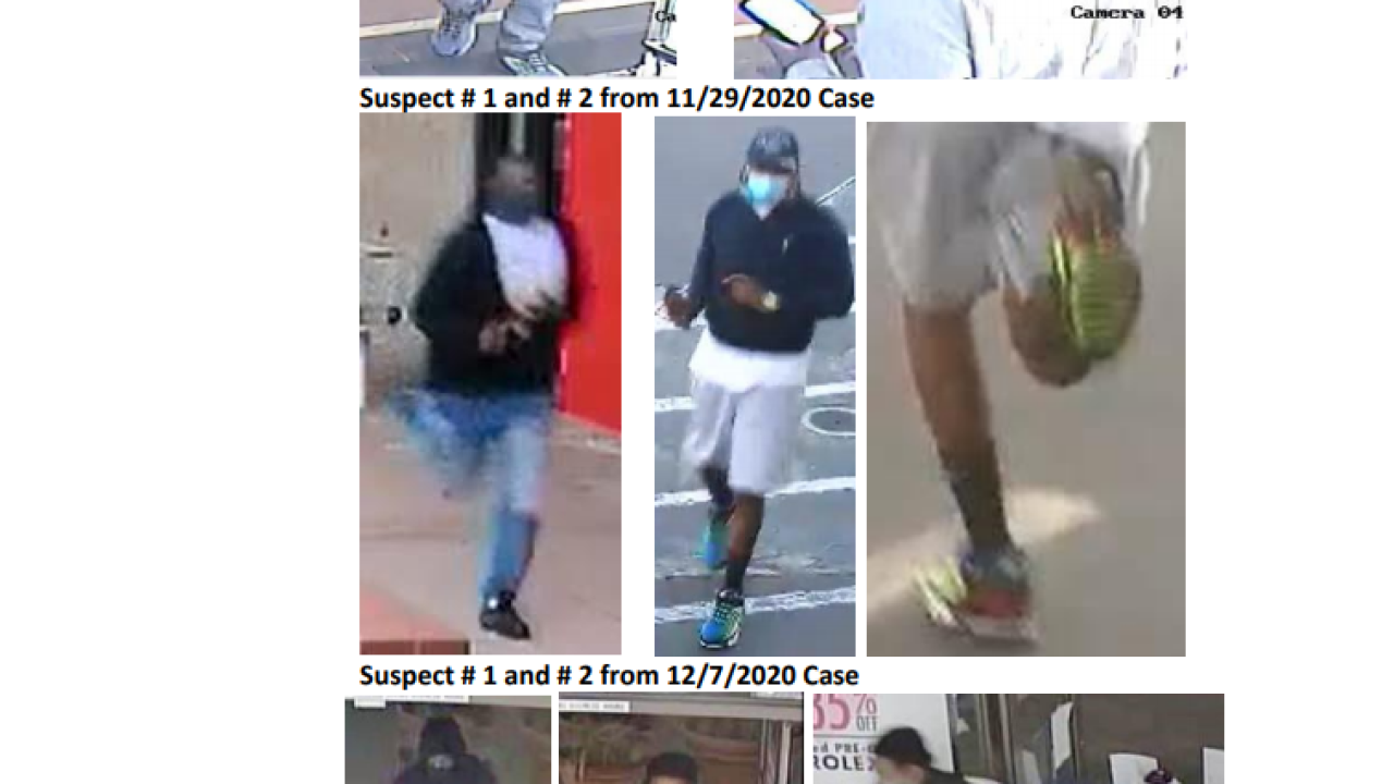 Robbery probe