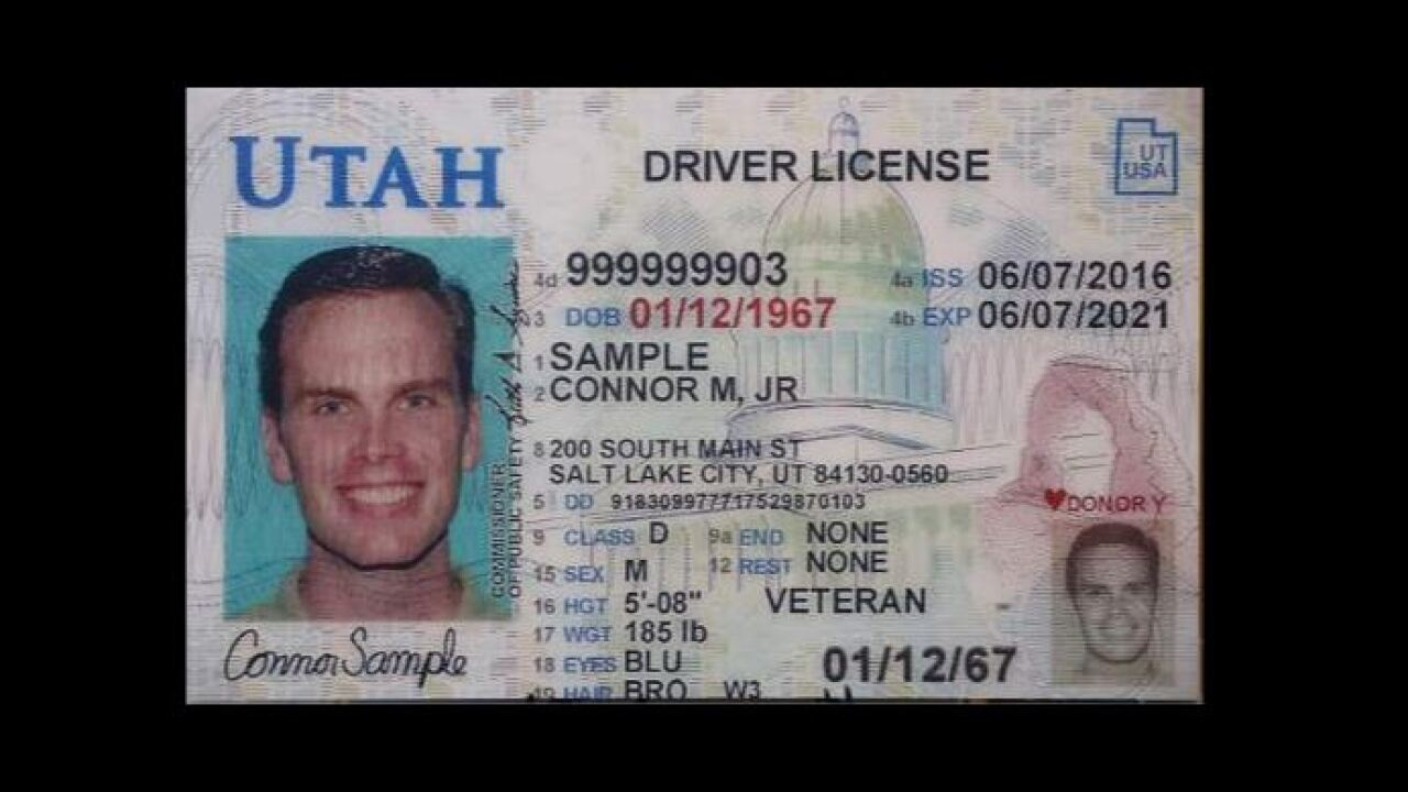 Video released explaining how and why Utahns will need to get new ID's by 2020