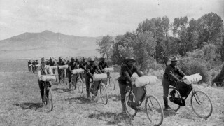 The 25th Infantry Bicycle Corps