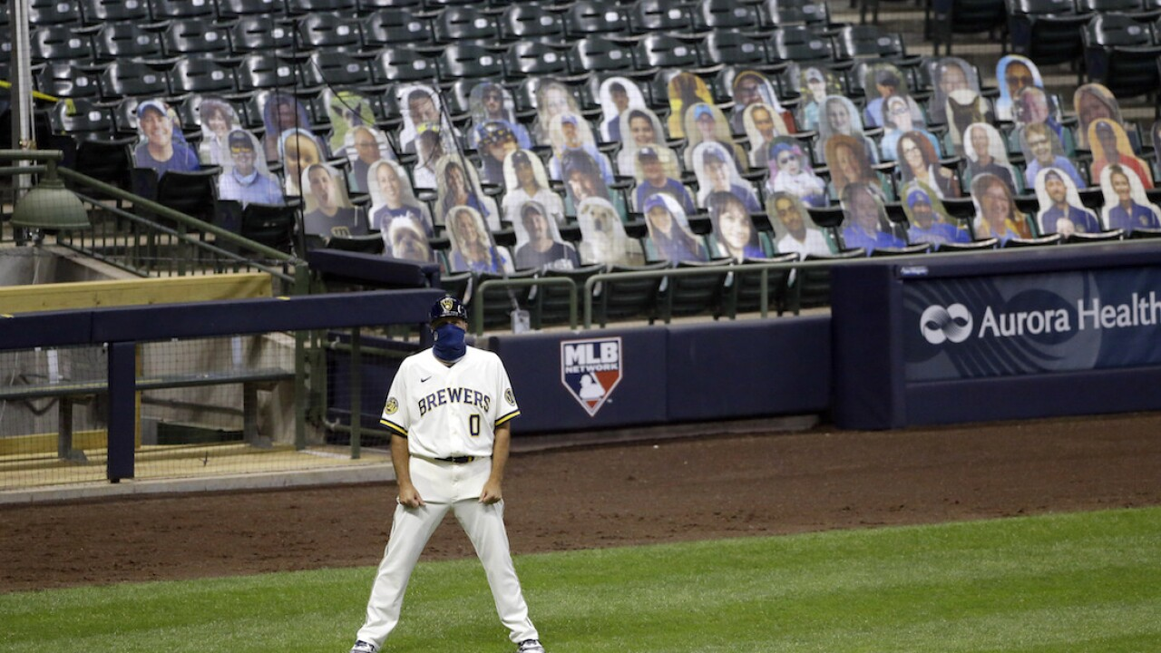 Milwaukee Brewers postpone game against Reds amid NBA players protest, reports say
