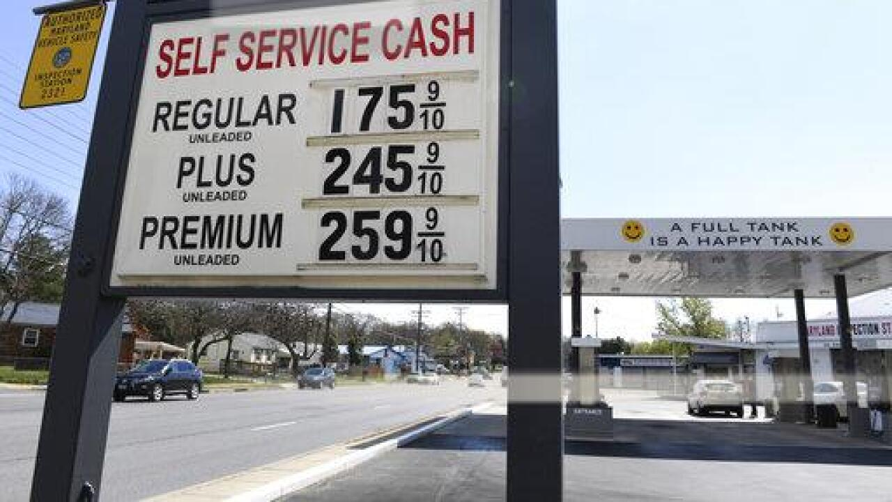 Skidding Texas gas prices