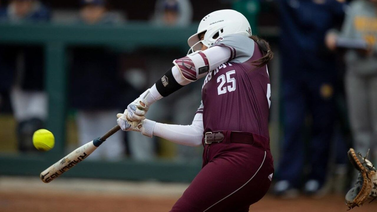 Texas A&M Softball splits day two of the Aggie Classic