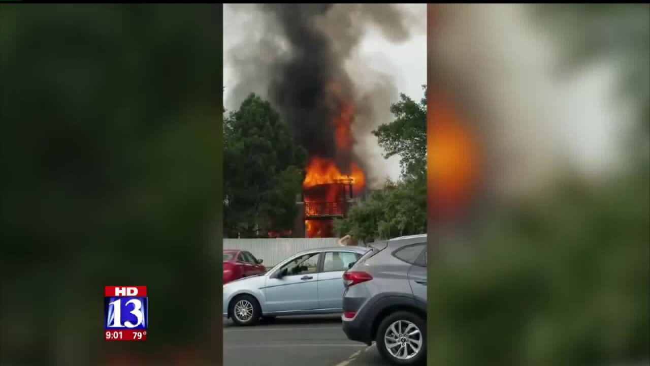 West Jordan condo fire ruled accidental; fatal victim identified