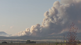 North Hills Fire reportedly burning at least 2,600 acres
