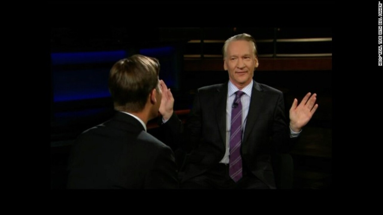 Bill Maher apologizes on 'Real Time' over using racial slur: 'I did a bad thing'