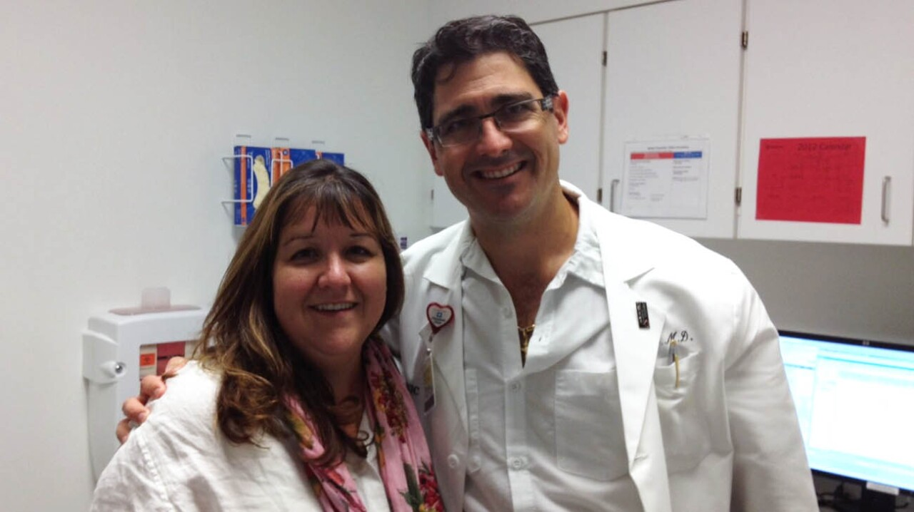 Tammie Purcell and Dr. Roselli.jpg