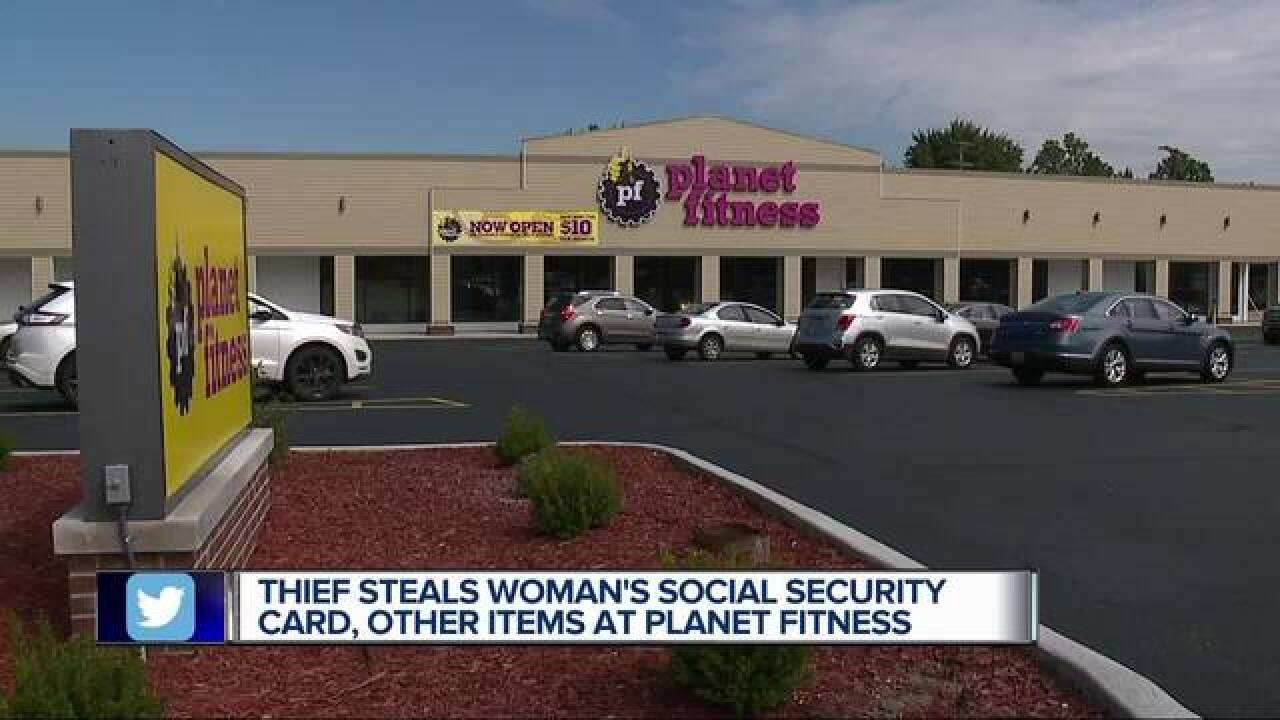 IDs, cash stolen from locker at Planet Fitness