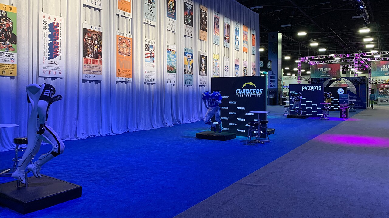 Super Bowl Experience to fire up fans at the Miami Beach Convention Center