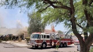 1st Alarm House Fire- 4807 E. Swilling Rd.