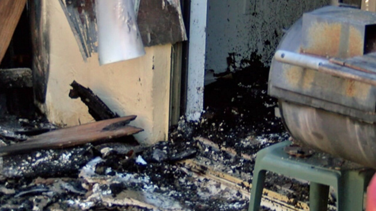 Residents displaced by suburban West Palm fire