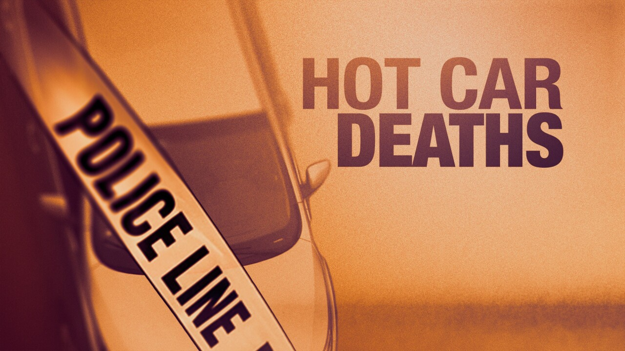 Child hot car deaths on pace to break last year's record