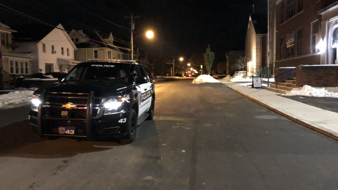 Crews working to end standoff situation involving man with a sword inside a Batavia home
