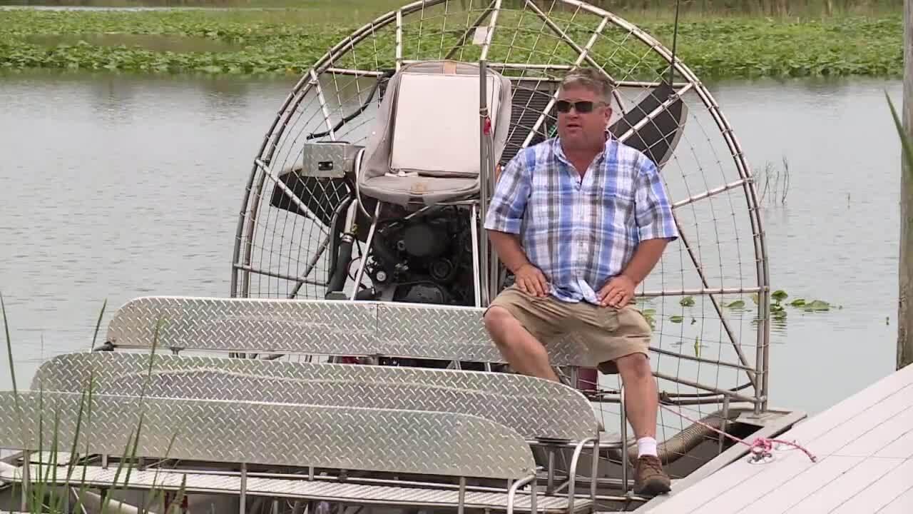 Jason Ferrell speaks about Lake Okeechobee water releases