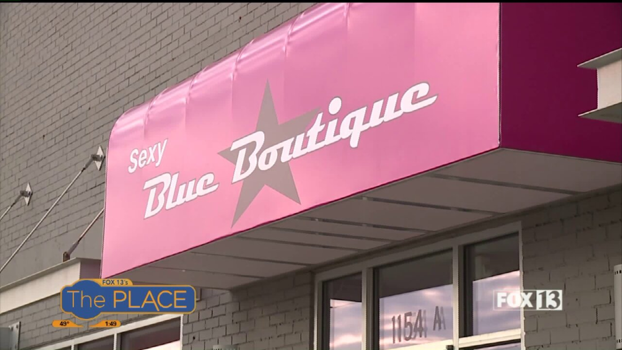 Free bra fittings at Blue Boutique