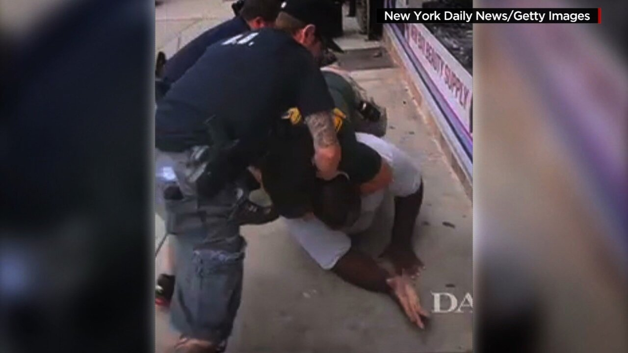 No federal charges for NYPD officer in Eric Garner'sdeath