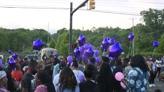Na'Kia Crawford vigil